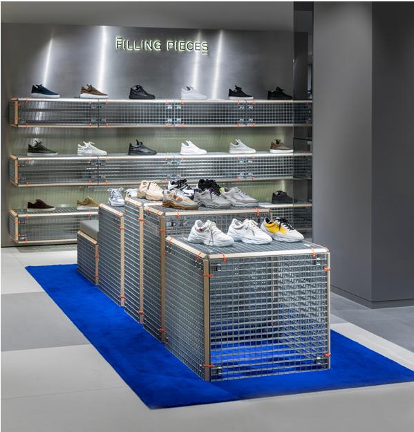Filling Pieces opent shop in shop bij de Bijenkorf Schoenvisie